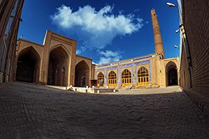 مسجد جامع دامغان از آثار تاریخی زیبای استان سمنان