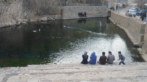 چشمه بالقلو ساوه