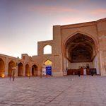 مسجد جامع قائن تنها بنای مذهبی با دو قبله