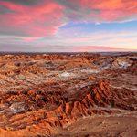 عجایب طبیعی زمینشناسی در بیابان آتاکاما شیلی