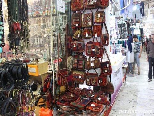 بازارچه مرزی و سنتی بندر ترکمن