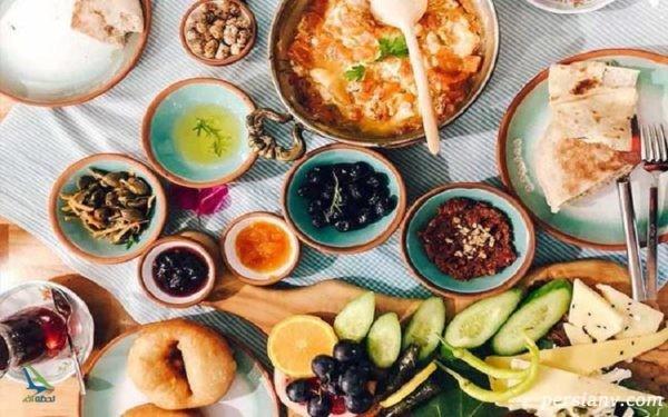 چرا صبحانه های ترکیه در دنیا بی نظیرند؟