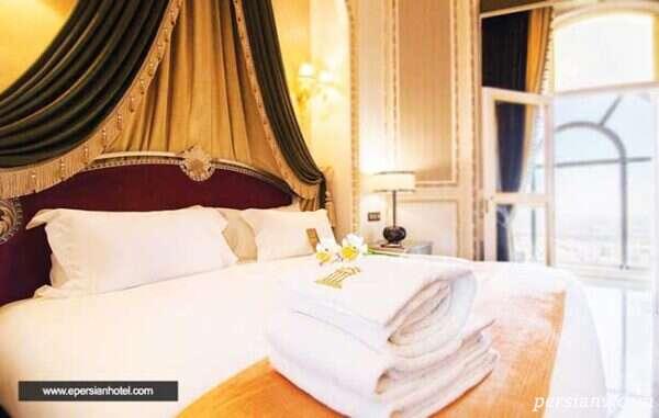 سوئیت های منحصر به فرد هتل اسپیناس پالاس