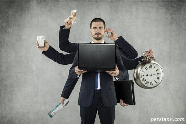 مشاغل استرسزا و پرتنش…