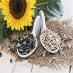 تخمه آفتابگردان برای تامین ویتامین E