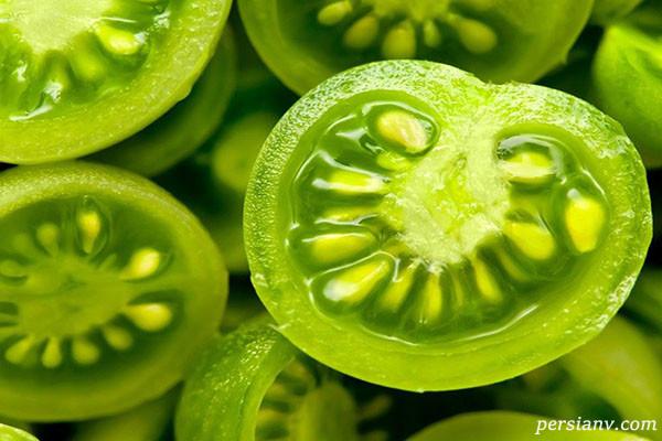 خوردن گوجه فرنگی خام کم خونی میاورد؟