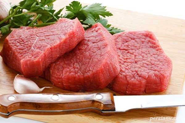 مصرف زیاد گوشت قرمز میتواند سرطانزا باشد