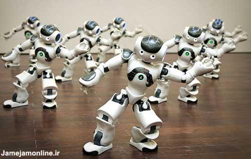 تصویر روبات های انسان نمای خودمختار!