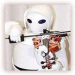 عکس العمل ربات های نوازنده به اشاره های دیداری و شنیداری