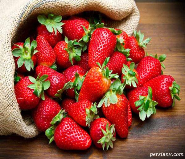 پرورش توت فرنگی