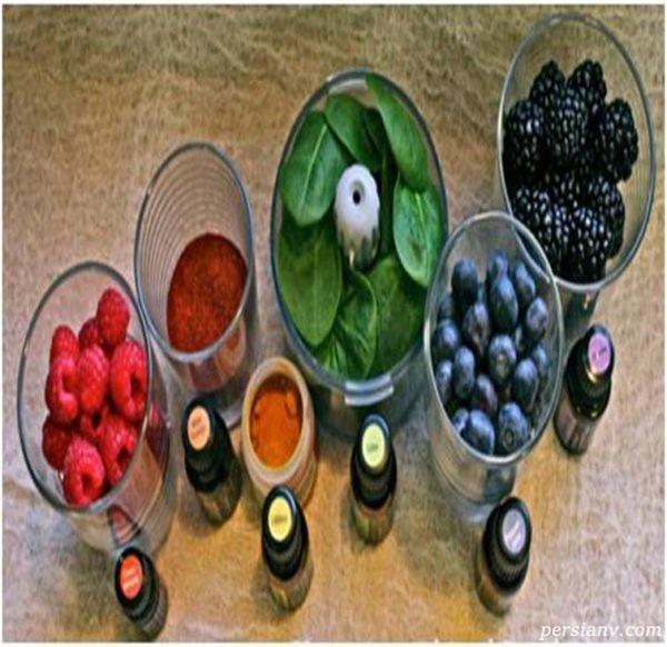رنگ های طبیعی در صنایع غذایی