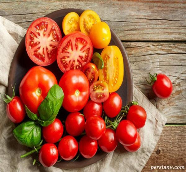 مضرات خوردن گوجه فرنگی خام