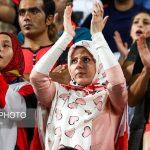 عکسی از هواداران خانم پرسپولیس در رویای ۶تایی کردن الهلال !