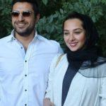 خوشتیپ کردن اشکان خطیبی توسط همسرش برای اكران مردمی فیلم زرد
