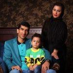 علیرضا بیرانوند با تیپ متفاوت در کنار فرزندانش
