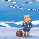 کاریکاتور اولین واکنش پنگوئنها به نتانیاهو!