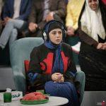 آزاده صمدی مهمان خندوانه شد + عکس