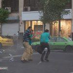 توفان تهران را در نوردید؛ اسامی مصدومان! + تصاویر