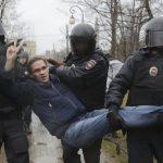 تظاهرات علیه پوتین در مسکو! + تصاویر