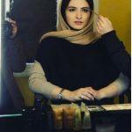 روزهای خوب گلاره عباسی در اتاق گریم! + عکس