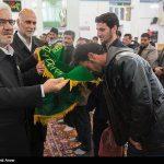 مراسم ترحیم جانباختگان سیل آذربایجان با حضور جمعی از خادمان حرم رضوی+ تصاویر