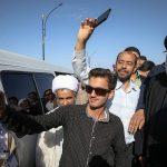 حاشیه های سفر رئیسی به شهرستان بیرجند + تصاویر