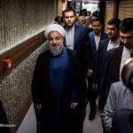 پشت صحنه ضبط برنامه حسن روحانی + تصاویر