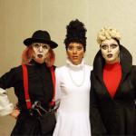 گریم و پوشش عجیب سه بازیگر زن!+ عکس