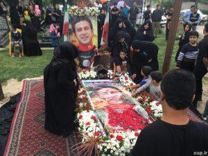 مراسم اولین سالگرد درگذشت مهرداد اولادی + تصاویر