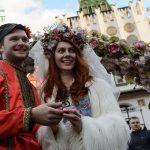 جشنواره عشاق در مسکو + تصاویر