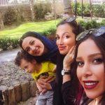 روناک یونسی پس از بازگشت به ایران در کنار دوستان معروفش! + تصاویر