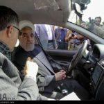 خودرویی که روحانی با آن به مناظره رفت! + تصاویر