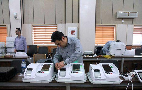 تحویل اولین صندوقهای الکترونیک اخذ رای