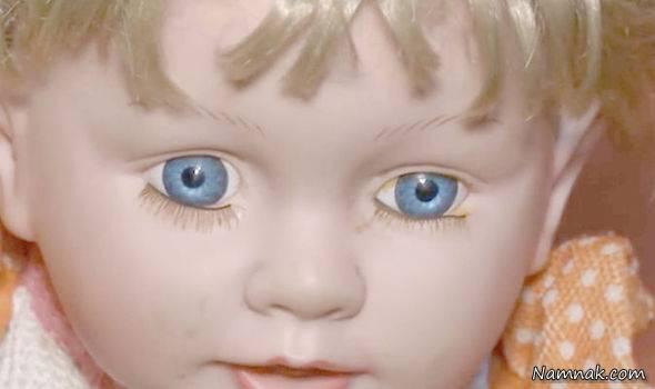 عروسک ترسناکی که شبها زنده میشود؟! +عکس