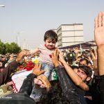 مراسم تشييع پيکر دو شهيد نیروی انتظامی در حادثه تروریستی اهواز