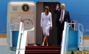 دو نالد ترامپ به تل آویو رسید!