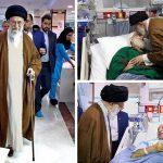 عیادت سرزده رهبر معظم انقلاب از چند بیمار!+ تصاویر