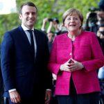 دیدار ماکرون و مرکل در سفر رئیسجمهور جدید فرانسه به آلمان