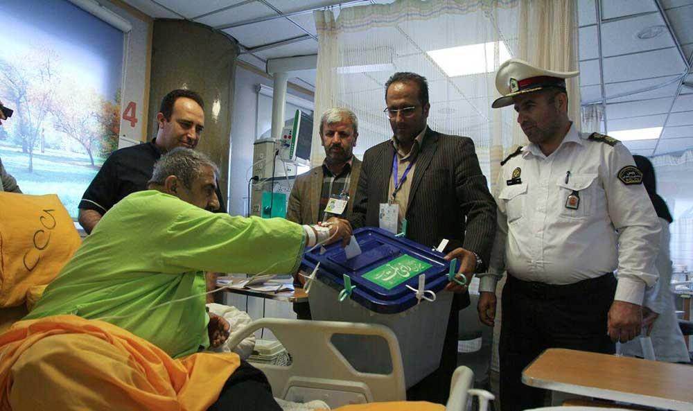 رای گیری در بیمارستان های آمل