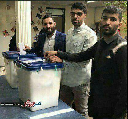 حضور ورزشکاران در انتخابات