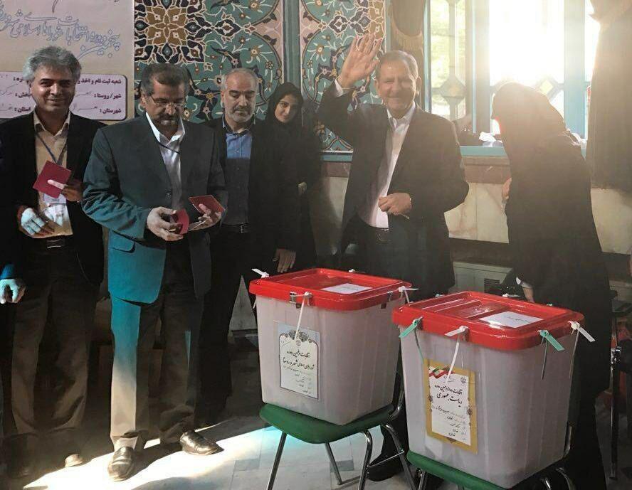 شرکت جهانگیری در انتخابات
