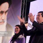 چهرههای حاضر در جشن پیروزی روحانی