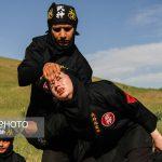 تمرینات سخت زنان نینجاکار ایرانی در بروجرد!