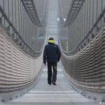 طولانیترین پل معلق دنیا افتتاح شد! + تصاویر