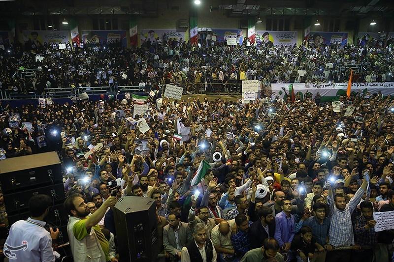 هواداران ابراهیم رئیسی در کرمان