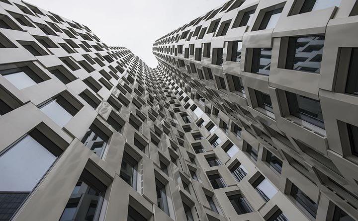 ساختمان عجیب در آلمان