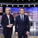 مناظره نامزدهای انتخابات ریاستجمهوری فرانسه + تصاویر