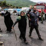 اشکهای مادری که فرزندش در معدن محبوس شده! + تصاویر دردناک