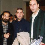 عکس دیده نشده از حاتمی کیا در کنار اصغر فرهادی