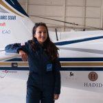 اولین زن خلبان افغانی که به تنهایی به دور دنیا پرواز می کند!